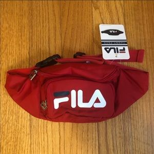 FILA red Fanny pack